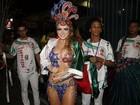 Veja as musas do primeiro dia de desfiles do Grupo Especial na Sapucaí