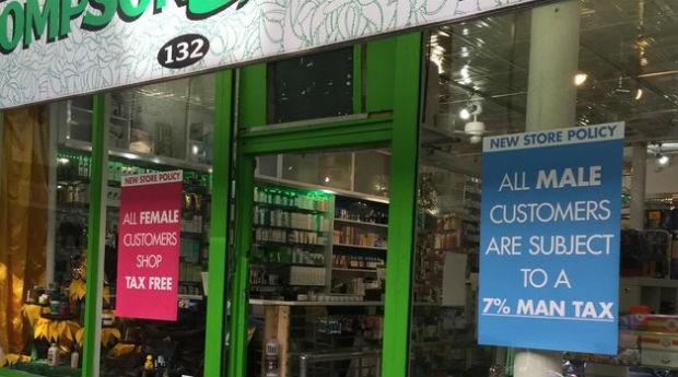 Dona da loja recebeu críticas dos internautas pela ação. (Foto: IMGUR)