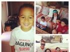 Ronaldo posta foto de farra dos filhos e brinca: 'Operação Bagunça'