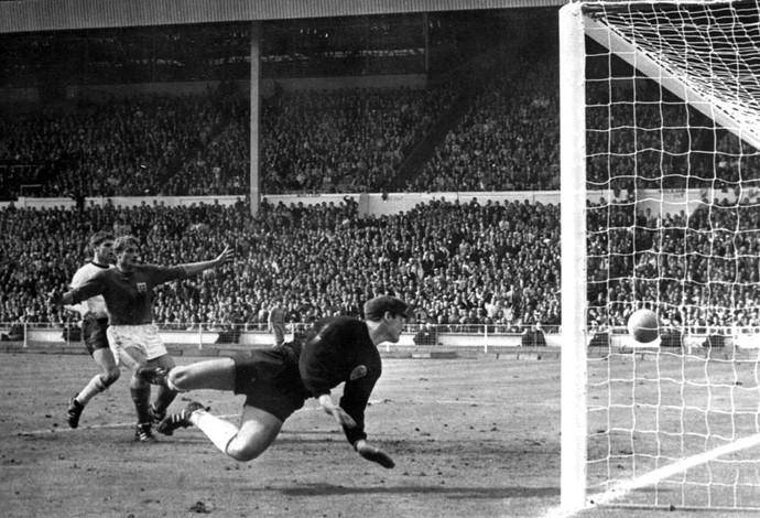 Copa do Mundo 1966 - Hurst (Foto: Agência AP )