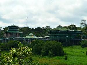 Hotel Ariaú Amazon Towers é um dos principais hotéis de selva do Amazonas (Foto: Marina Souza/G1 AM)