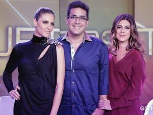 Apresentadores SuperStar (Foto: Fábio Rocha/ TV Globo)