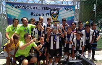 Confira os resultados das finais do Pernambucano de Base de Futebol 7