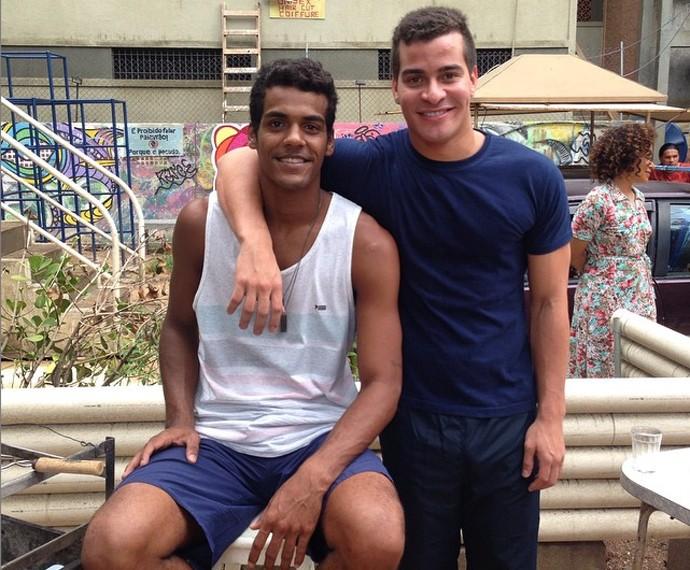 Marcello Melo Jr. entrega que já aprontou muito com Thiago Martins (Foto: Arquivo Pessoal)