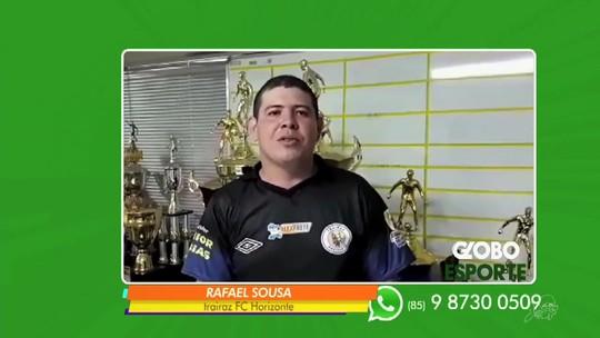 Trairaz Fc Horizonte volta ao topo e lidera liga Globo Esporte CE na rodada #4