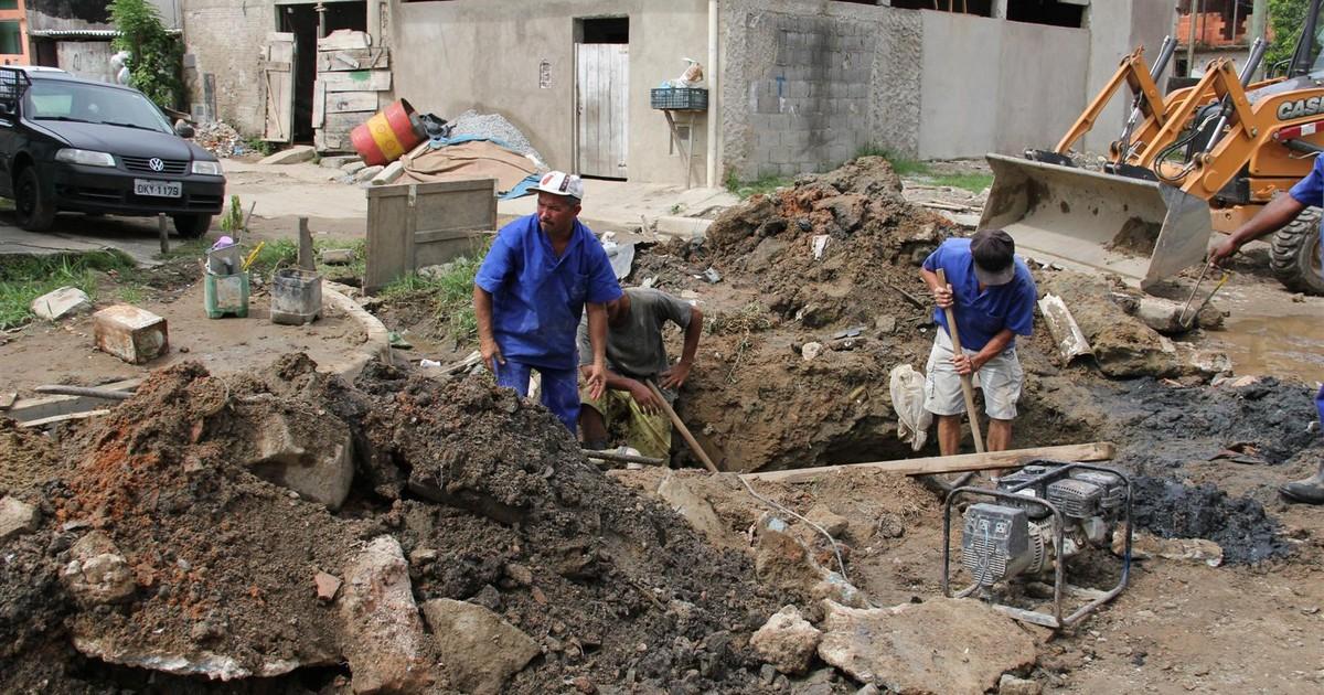 Obras de infraestrutura são realizadas no bairro Morrinhos 3, em ... - Globo.com