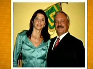 Carla e coronel Ubiratan (Foto: Reprodução/TV Globo)