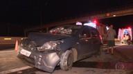 Acidente deixa três pessoas feridas na MG-10, na Grande BH