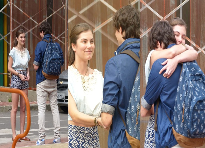 Henrique se despede de Bianca (Foto: Paula Santos / Gshow)