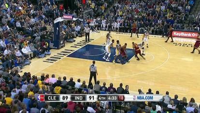 Confira os melhores momentos de Cleveland Cavaliers 111 x 106 Indiana Pacers pela NBA