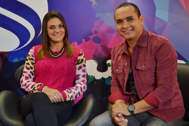 Maysa Reis e Menilson Filho comandam o Combinado, novo programa da TV Sergipe (Foto: Divulgação / TV Sergipe)