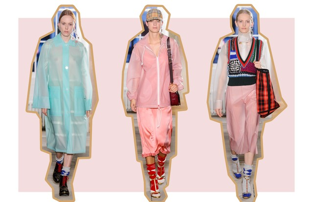 Tons Sorbet: Burberry (Foto: ImaxTree, Antonio Barros e Getty)
