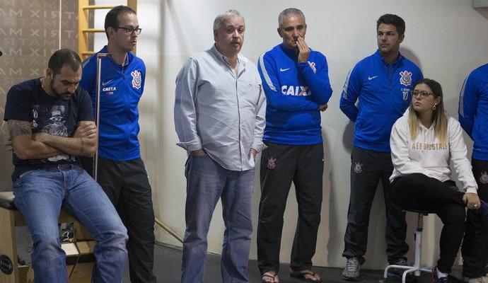 Despedida Tite- Corinthians (Foto: Daniel Augusto Jr/ Ag. Corinthians)