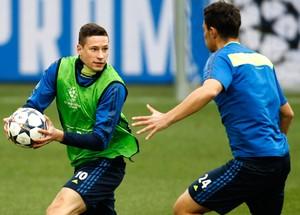 Treino Schalke Julian Draxler (Foto: Reuters)