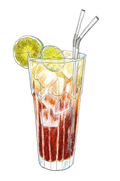 Long Island Iced Tea (Foto: Ilustrações Daniel Almeida)