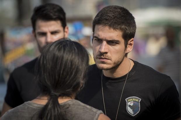 Marco Pigossi como Dante na novela A Regra do Jogo (Foto: Globo/João Cotta)