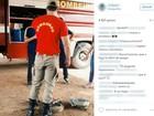 Bombeiro do Tocantins faz sucesso na web com foto de uniforme