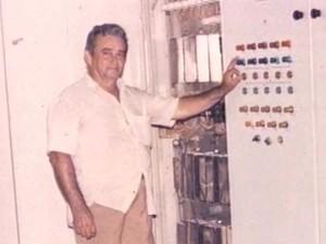 Raimundo Nonato, um dos técnico responsáveis pela primeira transmissão da TV Clube em 1972 (Foto: Reprodução/TV Clube)