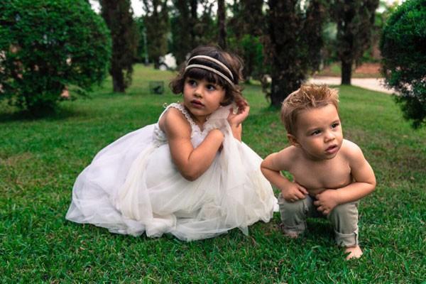 Anita e Antônio: os filhos de Mariana  (Foto: Mamãe e Bebê Fotografias)
