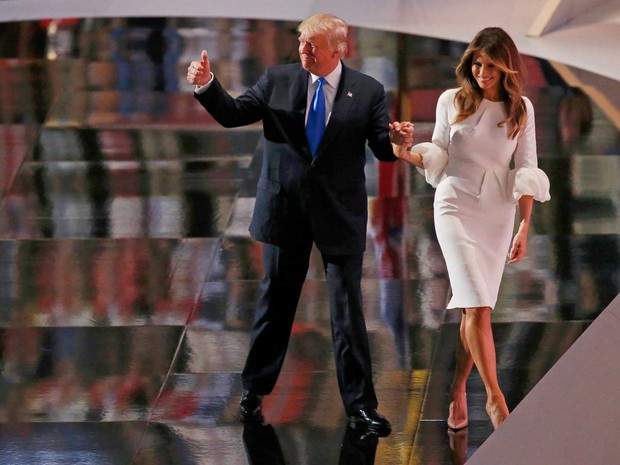 95cb21f68d43e G1 - Trump apresenta sua mulher como  próxima primeira-dama  dos EUA ...