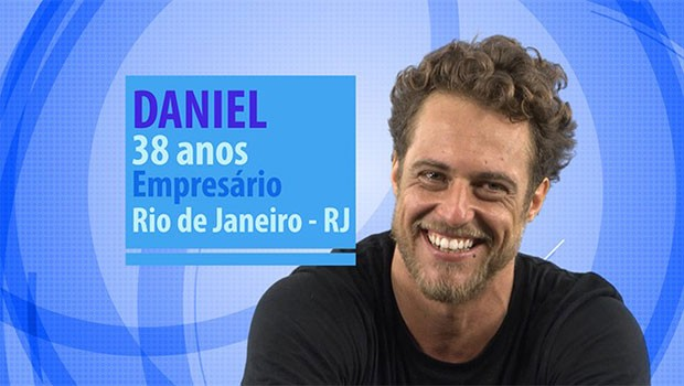 Daniel é um dos novos participantes do BBB (Foto: Divulgação/Globo)
