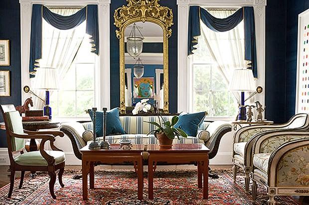 decoracao de interiores estilo classico : decoracao de interiores estilo classico:Cores descontraem o clima de casa clássica – Casa Vogue