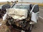 Colisão frontal mata um motorista e deixa outro ferido na BR-040, em GO