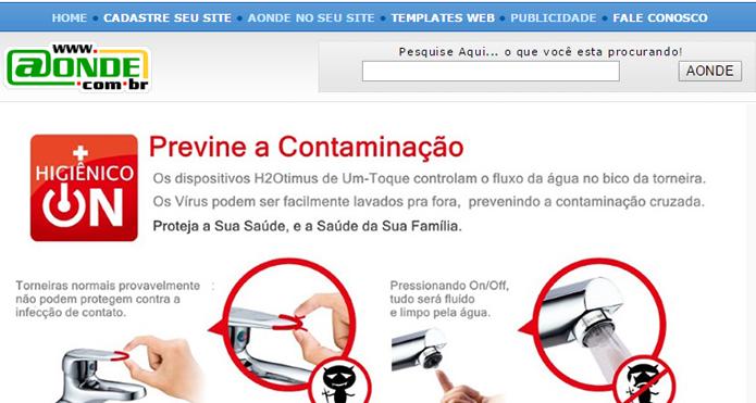 Brasileiro Aonde continua operando, mas não é muito usado no país (Foto: Reprodução/Aonde)