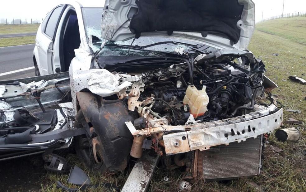 Motorista passou por teste do bafômetro, que acusou embriaguez ao volante  (Foto: Divulgação/Adriano Biscola)
