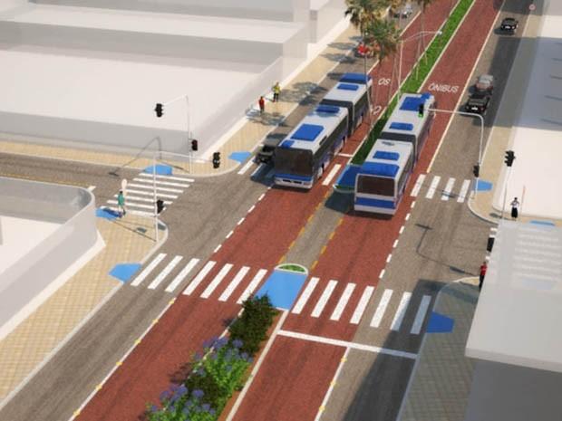 Projeto do BRT em João Pessoa lança edital para obras nesta terça-feira (26) (Foto: Reprodução / Projeto da PMJP)