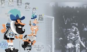 Do vovô ao mais alto: confira um raio-X completo do time campeão (Editoria de Arte/Globoesporte.com)