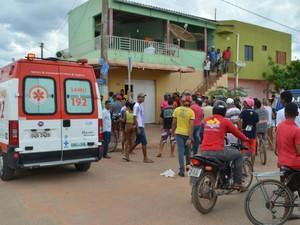 Polícia suspeita de crime passional (Foto: Weslei Santos/Blog do Sigi Vilares)