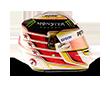 Capacete Formula 1 2016 - Hamilton