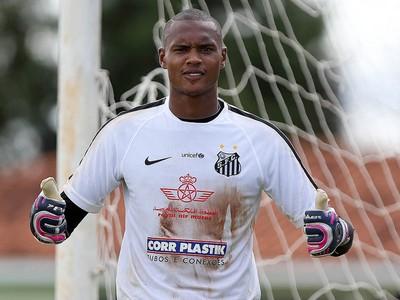 John - Santos (Foto: Pedro Ernesto Guerra Azevedo/Divulgação Santos FC)