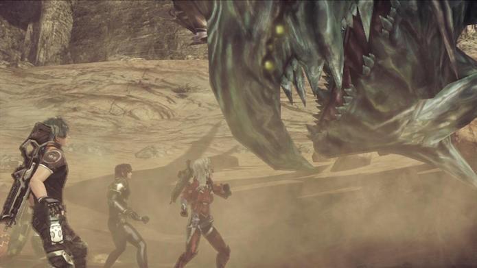 Xenoblade Chronicles X tem perigos além de criaturas colossais (Foto: Divulgação/Nintendo)