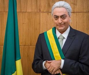 Fernando Caruso caracterizado para um esquete do 'Zorra' | Globo/ Paulo Belote