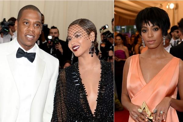 Todo mundo quer saber o que levou Solange Knowles a agredir Jay-Z no último MET Gala. Apesar da repercussão, a declaração da família diz que os problemas já foram resolvidos e superados (Foto: Getty Images)