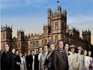 Imagem do pôster de 'Downton Abbey' (Foto: Reprodução)