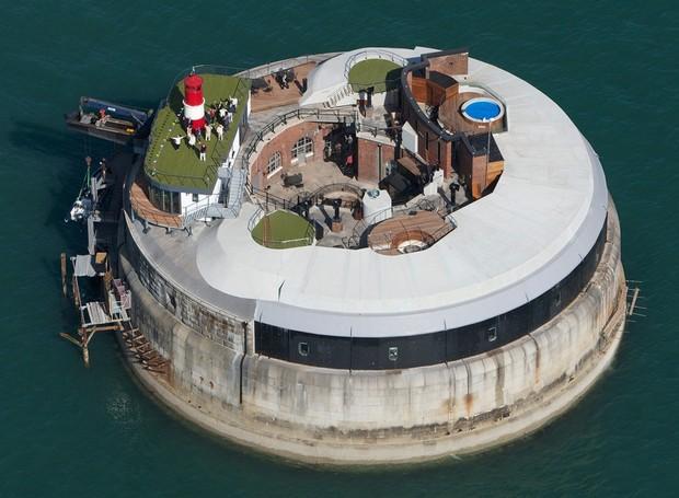 spitbank-fort-hotel-mar-forte-hoteis-peculiares-mundo (Foto: Divulgação)