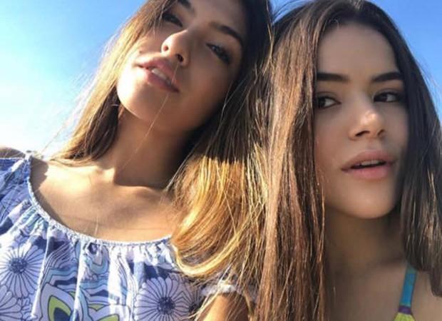 Fernanda Concon e Maísa Silva (Foto: Reprodução/Twitter)