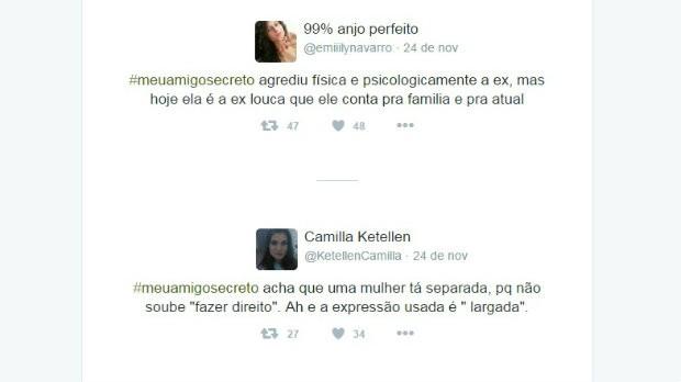 #meuamigosecreto 10 (Foto: Reprodução/Twitter)