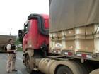 Caminhoneiros participam de blitz  educativa na região de Ponta Grossa