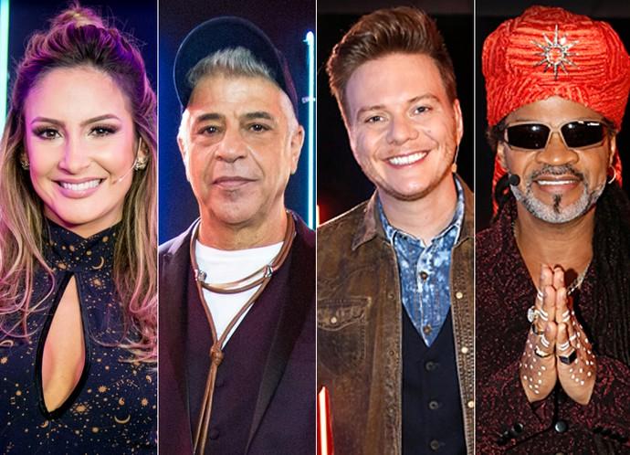 Claudia Leitte, Lulu Santos, Michel Teló e Carlinhos Brown serão os técnicos da 5ª temporada do The Voice (Foto: Gshow)