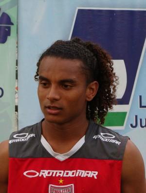 Bruno Santa Rosa lateral-esquerdo Paulista de Jundiaí (Foto: Divulgação / Paulista FC)