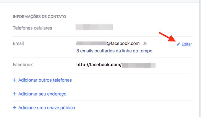 Acessando as configurações de contato em um perfil de usuário do Facebook (Foto: Reprodução/Marvin Costa) (Foto: Acessando as configurações de contato em um perfil de usuário do Facebook (Foto: Reprodução/Marvin Costa))