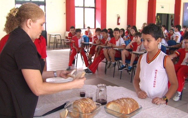 Ação educativa foi realizada na manhã desta terça-feira (15) (Foto: Roraima TV)