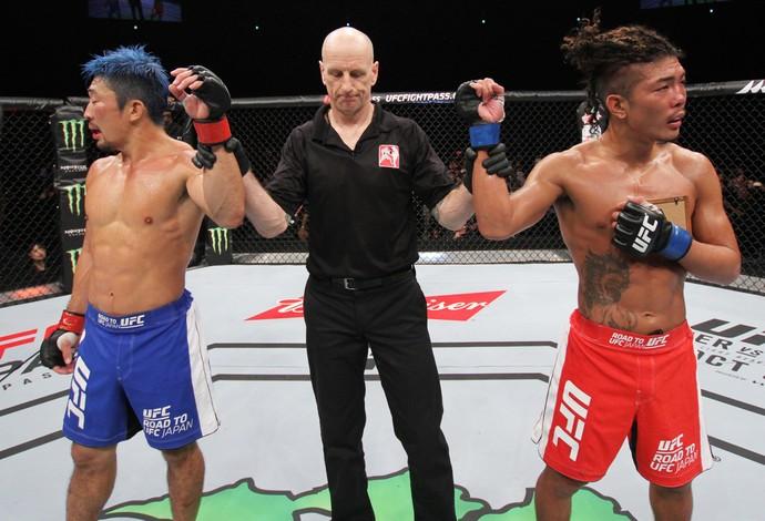 Teruto Ishihara Mizuto Hirota UFC (Foto: Getty Images)
