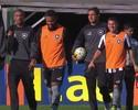 Sem saída, Aquino ganha segunda chance por recomeço no Botafogo