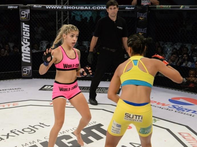 Bruna Ellen e Pâmela Mara Max Fight 16 (Foto: Divulgação/Alexandre Valle)