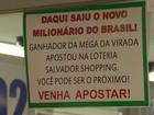 Ganhador da Mega da Virada na Bahia retira prêmio de R$ 36 milhões